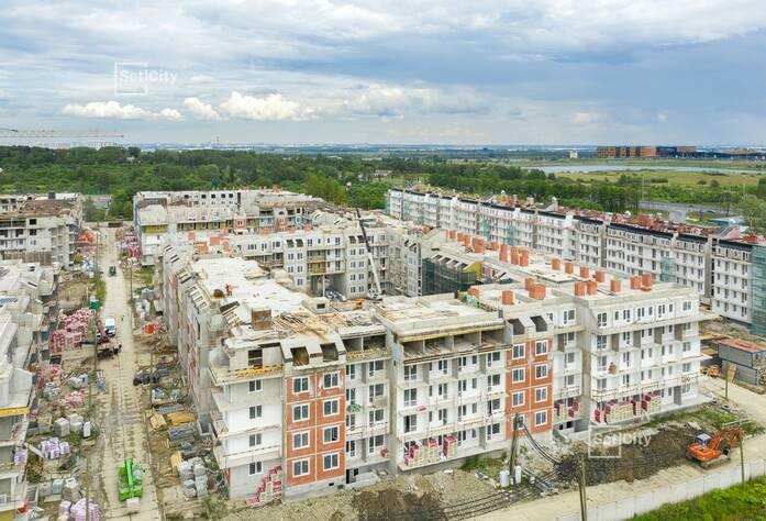 МЖК «Зеленый квартал»: ход строительства корпуса №1.2
