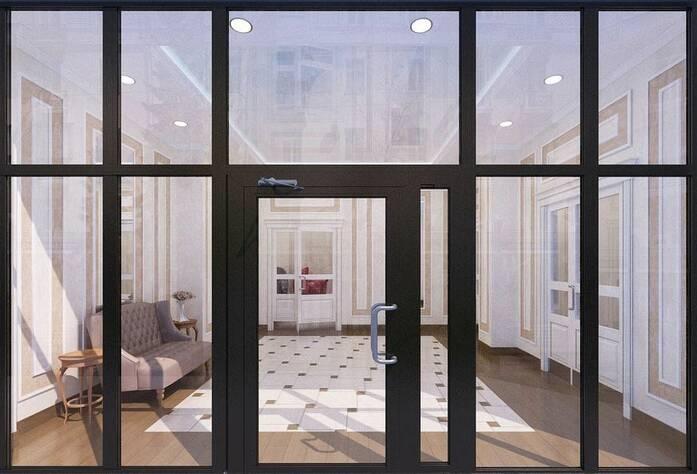 ЖК «Клубный дом Б57»: визуализация мест общего пользования