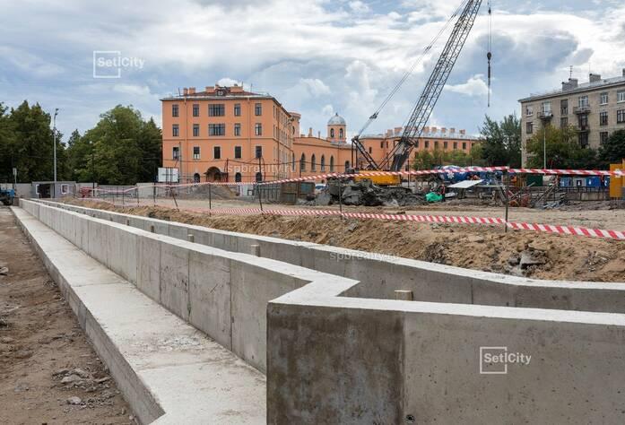 ЖК Victory Plaza: ход строительства (июль-август 2019)
