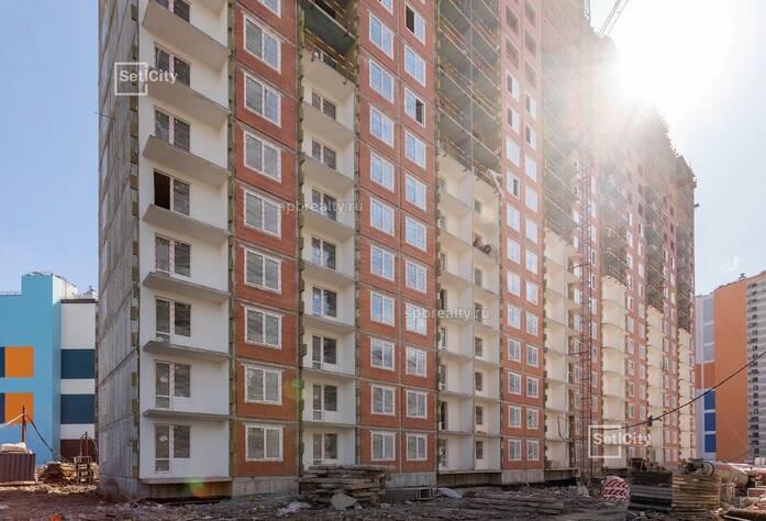 ЖК «Чистое небо»: ход строительства сентябрь
