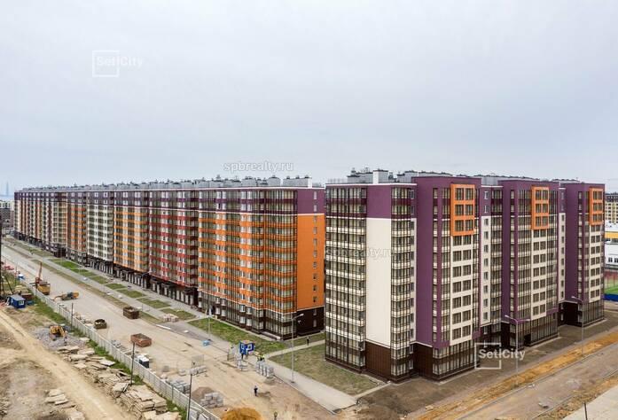 ЖК «Солнечный город»: ход строительства корпуса 8 сентябрь