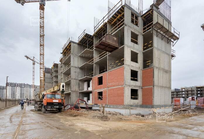 ЖК «Солнечный город»: ход строительства 10.1 корпуса сентябрь