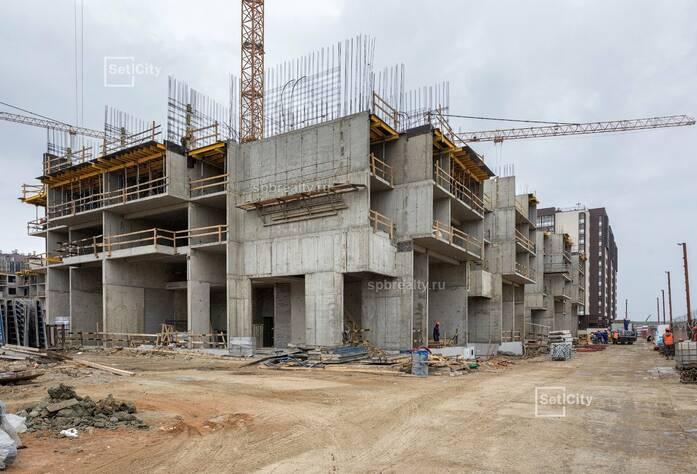 ЖК «Солнечный город»: ход строительства 10.3 корпуса сентябрь