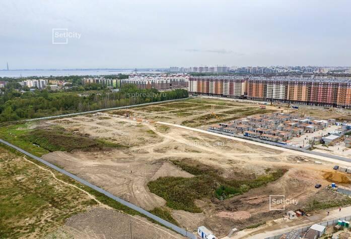 ЖК «Солнечный город»: ход строительства 10.3.1 корпуса сентябрь