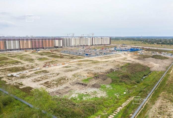 ЖК «Солнечный город»: ход строительства 10.3.2 корпуса сентябрь