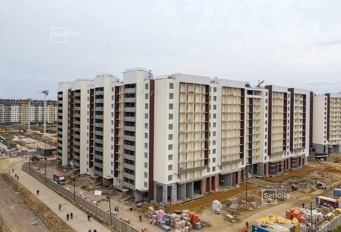 ЖК «Солнечный город»: ход строительства 9.2 корпуса сентябрь