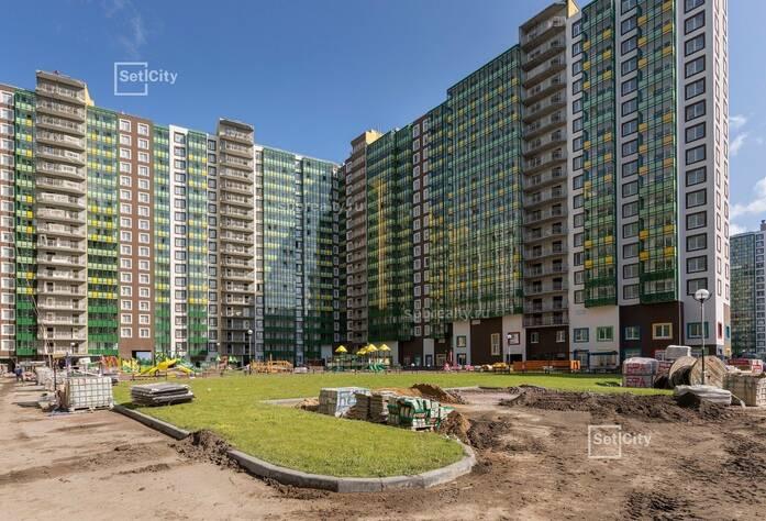 ЖК «GreenЛандия 2»: ход строительства сентябрь