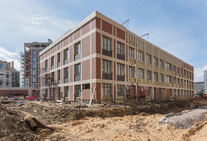 ЖК «Петровский Квартал на воде»: ход строительства сентябрь