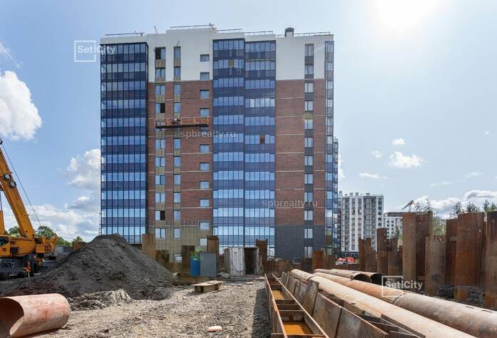 ЖК «Философия на Московской»: ход строительства сентябрь