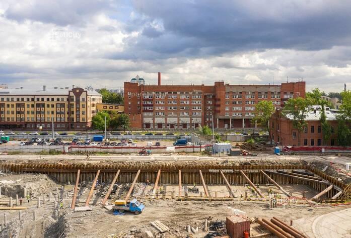 ЖК «Притяжение»: ход строительства сентябрь