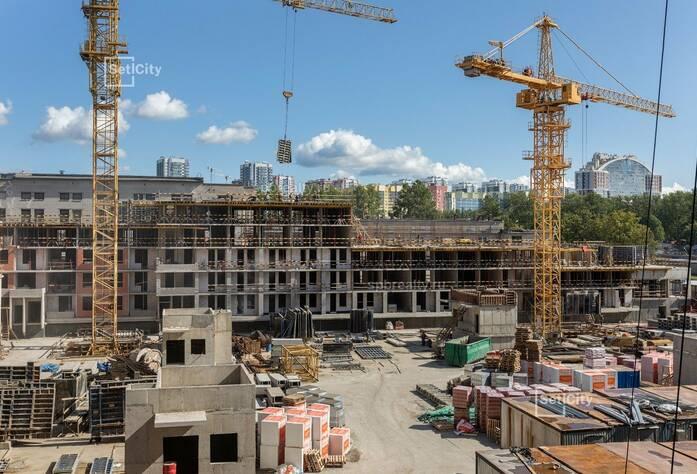 ЖК «Облака на Лесной»: ход строительства сентябрь