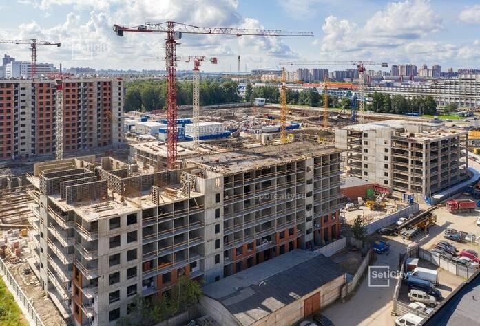 МФК «ArtLine в Приморском»: ход строительства