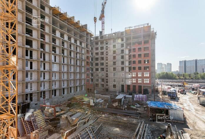 ЖК «Pulse на набережной»: ход строительства