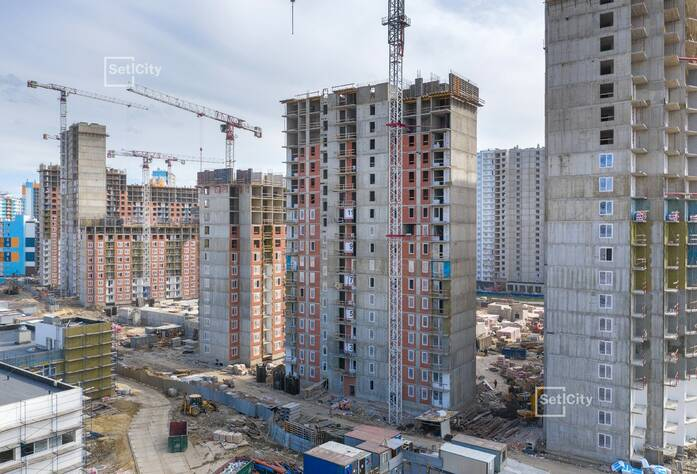 ЖК «Чистое небо»: ход строительства корпуса №7.2