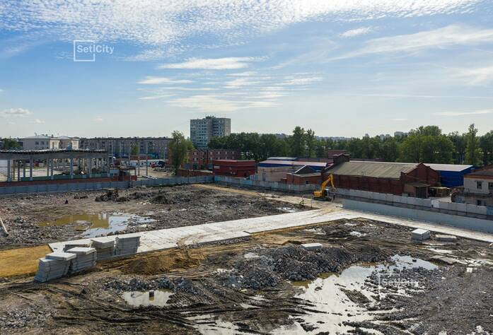ЖК «Стрижи в Невском»: ход строительства корпуса №3