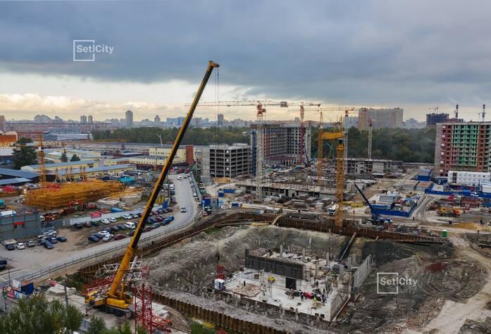 МФК «ArtLine в Приморском»: ход строительства дома №3