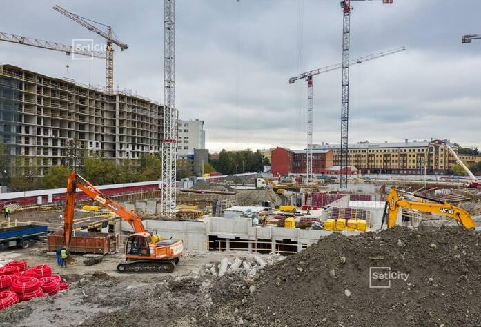 ЖК «Притяжение»: ход строительства корпуса №4
