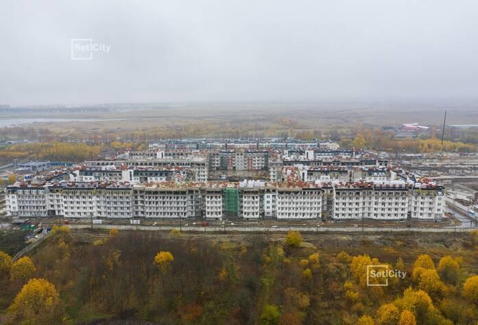МЖК «Зеленый квартал»: ход строительства корпуса №1.3