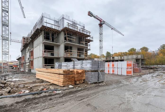 МФК «ArtLine в Приморском»: ход строительства дома №5