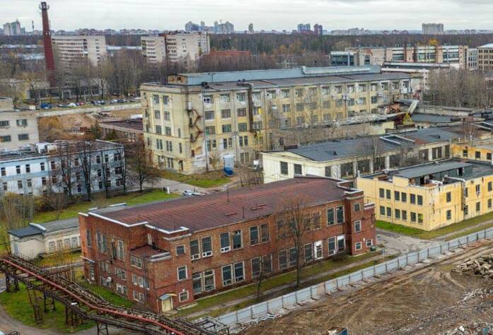 ЖК «Панорама парк Сосновка»: ход строительства корпуса №1