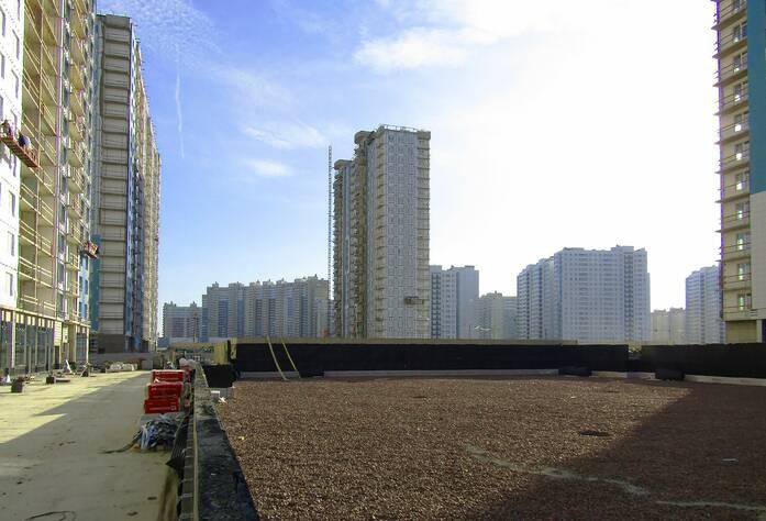 ЖК «Огни залива»:ход строительства 15 корпус
