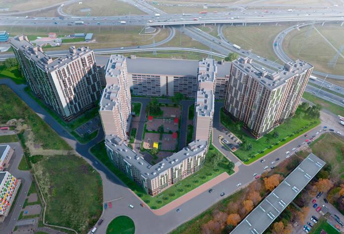 ЖК UP-квартал «Московский»: визуализация