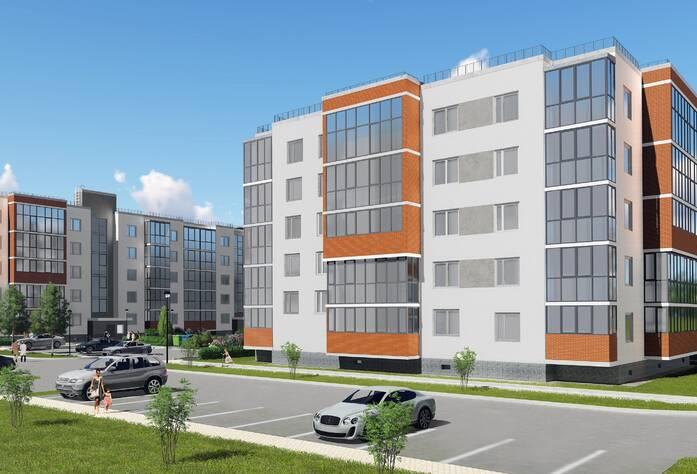 Малоэтажный ЖК «Новый Петергоф»: визуализация