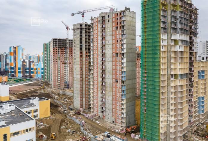 ЖК «Чистое небо»: ход строительства корпусов №7.1-7.6