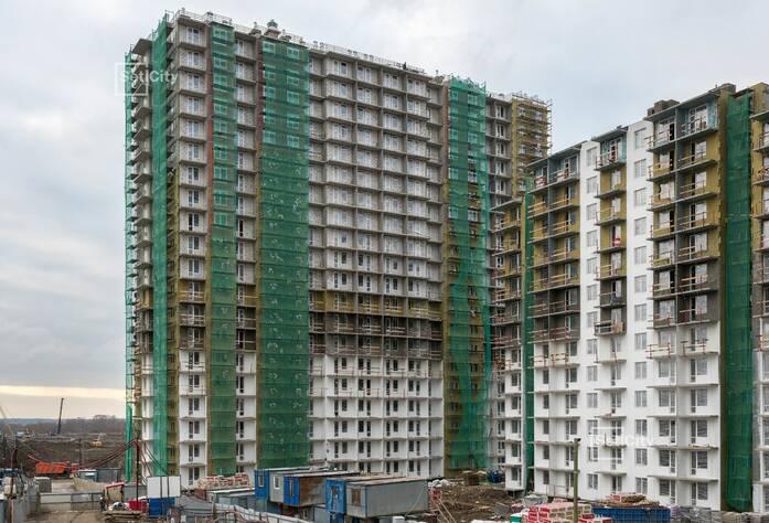 ЖК «Чистое небо»: ход строительства корпусов №8.1-8.5