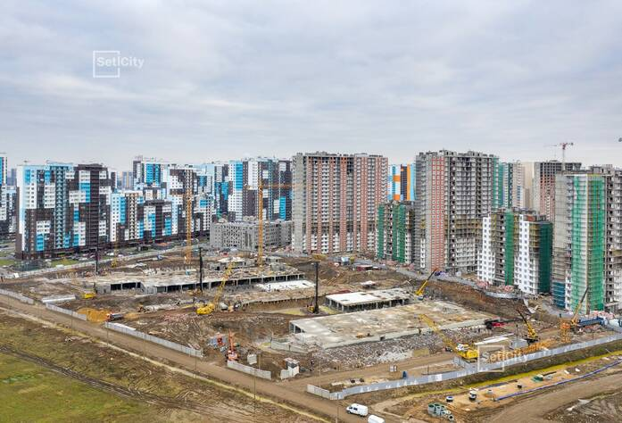 ЖК «Чистое небо»: ход строительства корпуса №9