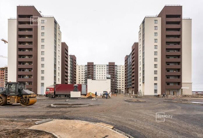ЖК «Солнечный город»: ход строительства корпусов №9.1-9.2
