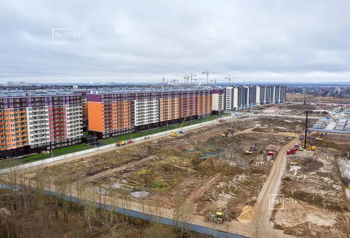 ЖК «Солнечный город»: ход строительства корпусов №10.1.1-10.1.3