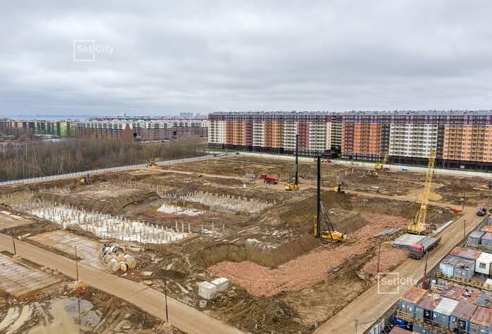 ЖК «Солнечный город»: ход строительства корпусов №10.2.1-10.2.2