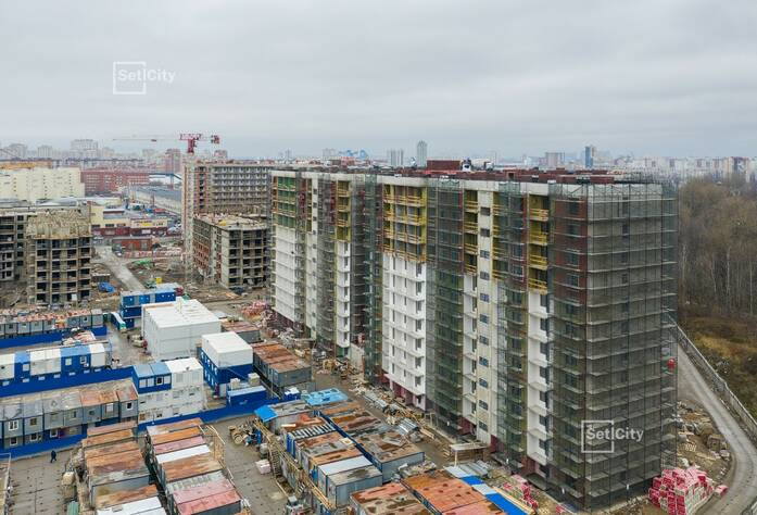 МФК «ArtLine в Приморском»: ход строительства апарт-отеля 1