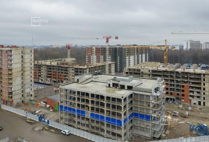 МФК «ArtLine в Приморском»: ход строительства наземного паркинга