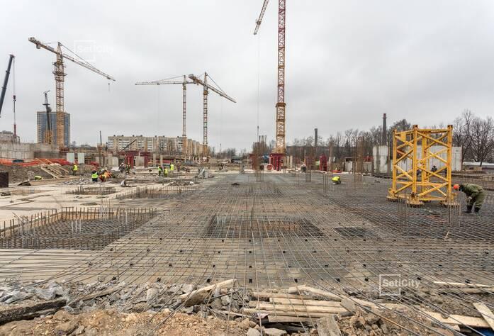 ЖК «Стрижи в Невском»: ход строительства корпуса №4