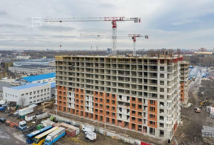 ЖК «Статус у парка Победы»: ход строительства дома №2