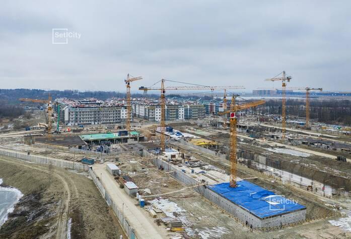 МЖК «Зеленый квартал»: ход строительства корпуса №2.3
