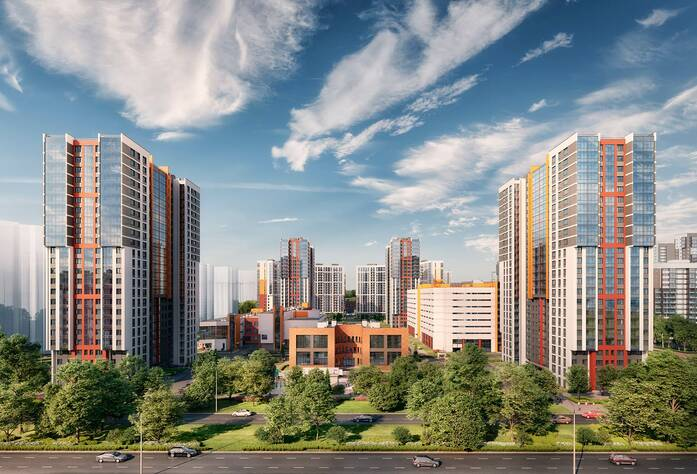 ЖК «Ultra City»: визуализация
