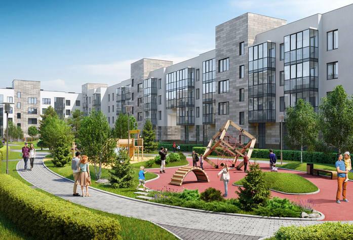 МЖК «Солнечный город Резиденции»: визуализация