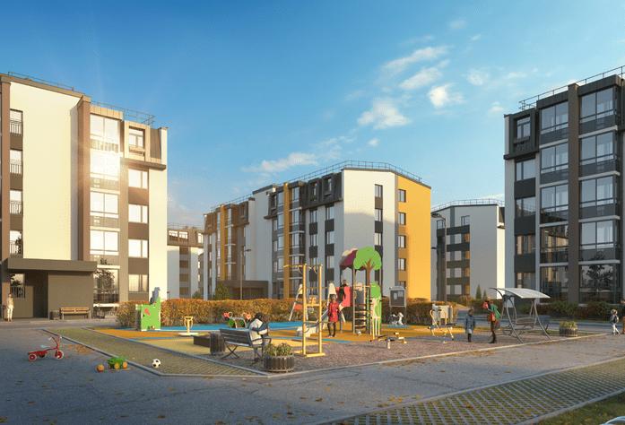 Малоэтажный ЖК «Inkeri»: визуализация 4 очереди