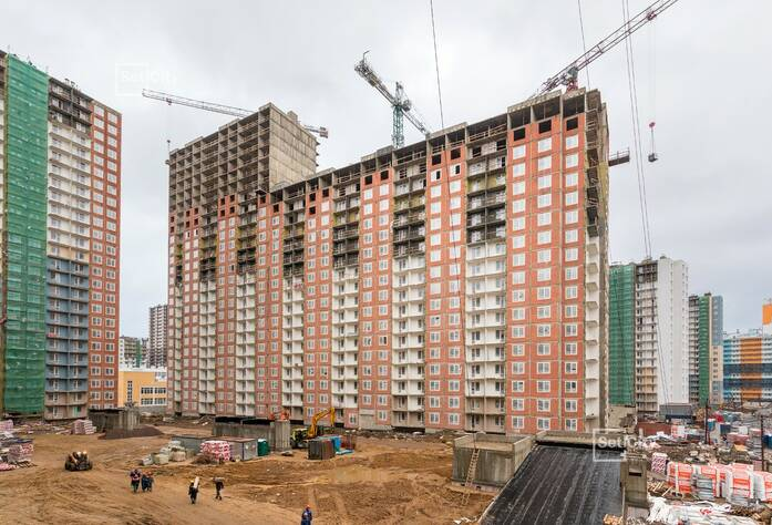 ЖК «Чистое небо»: ход строительства корпусов 7.1-7.6