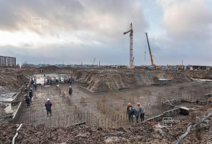 ЖК «Солнечный город»: ход строительства корпусов 10.2.1-10.2.2