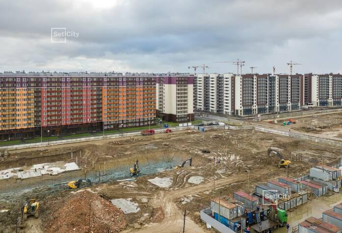 ЖК «Солнечный город»: ход строительства корпусов 10.1.1-10.1.3