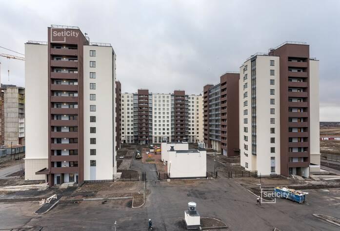 ЖК «Солнечный город»: ход строительства корпусов 9.1-9.2