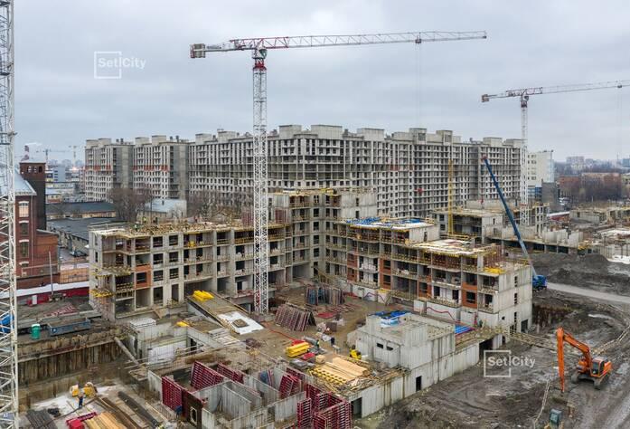 ЖК «Притяжение»: ход строительства корпуса 3