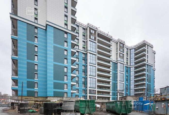 ЖК «Облака на Лесной»: ход строительства дома 2
