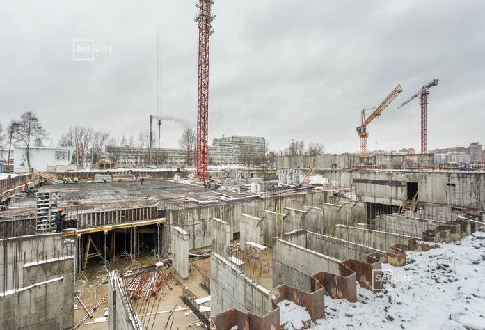 МФК «ArtLine в Приморском»: ход строительства корпуса 1
