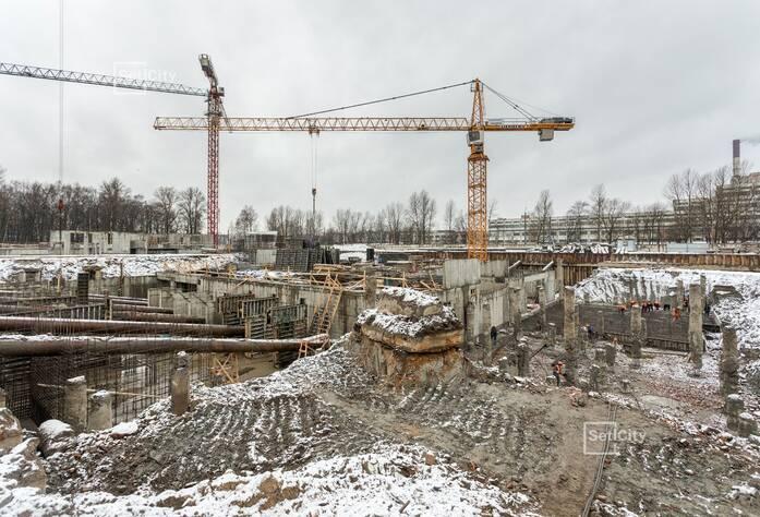 МФК «ArtLine в Приморском»: ход строительства корпуса 2