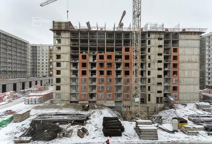 МФК «ArtLine в Приморском»: ход строительства корпуса 5